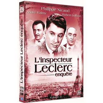 L'Inspecteur LeclercL'Inspecteur Leclerc - Coffret 3