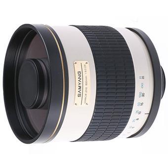 Objectif reflex samyang 800 mm f 8 0 miroir mc if for Objectif a miroir