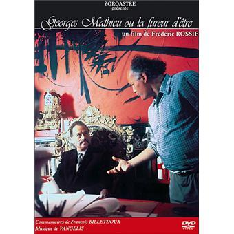 Georges Mathieu ou la fureur d'être - Edition Collector