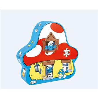 Dujardin Puzzle Les Schtroumpfs Maison