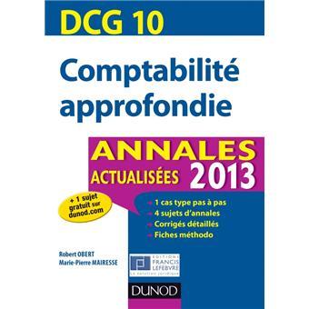 Comptabilité approfondie, DCG 10
