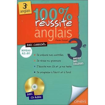 100 De Reussite En Anglais 3eme