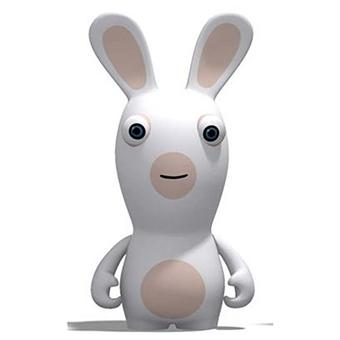 Figurine lapin cr tin souriant jeux vid o achat prix fnac - Lapin cretin image ...
