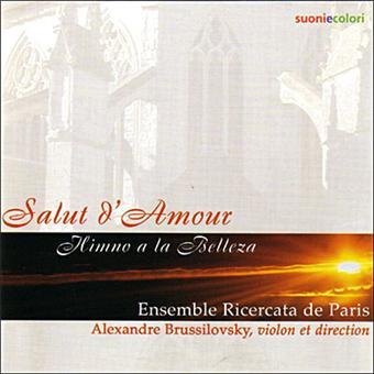 salut d 39 amour alexandre brussilovsky cd album achat prix fnac. Black Bedroom Furniture Sets. Home Design Ideas