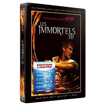 Les Immortels - Combo Blu-Ray 3D + DVD