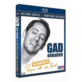 "Gad Elmaleh : La dernière de ""Papa est en haut"" - Blu-Ray"