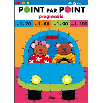 Point par point progressifs de 1 à 70, 80, 90, 100