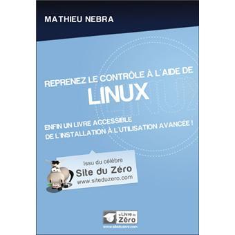 le livre reprenez le contrôle à laide de linux