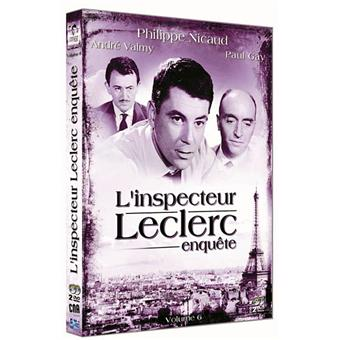 L'Inspecteur LeclercL'Inspecteur Leclerc enquête - Coffret 6