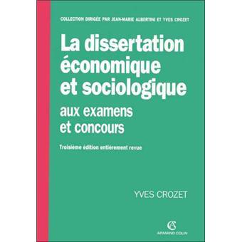 Dissertation conomique