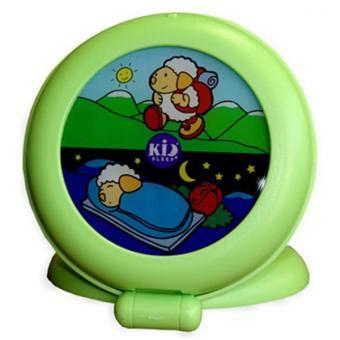 veilleuse et indicateur de r veil kid 39 sleep globetrotter claessens 39 kids vert produits b b s fnac. Black Bedroom Furniture Sets. Home Design Ideas