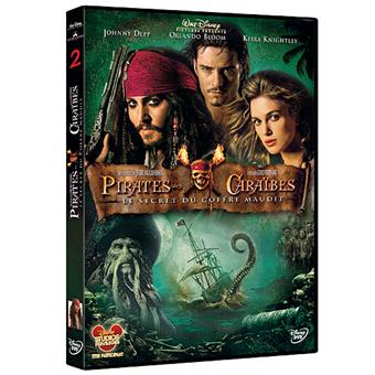 Pirate Des CaraïbesPirates des Caraïbes Le secret du coffre maudit DVD