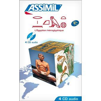 Egyptien Hieroglyphe Sans Peine Cours Cd Audio Livre Cd