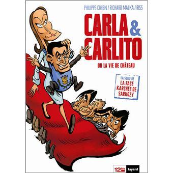 La face karchée de SarkozyCarla & Carlito
