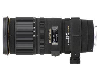 Sigma DG APO EX HSM 70 mm - 200 mm f / 2.8 SLR-lens, Canon-montage