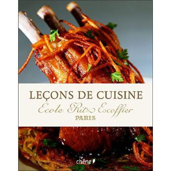 Lecons De Cuisine Ecole Ritz Escoffier Broche Collectif