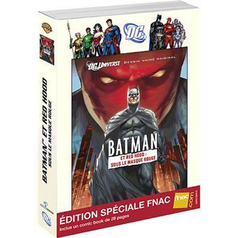 BatmanBatman et Red Hood : Sous le masque rouge - Edition Spéciale Fnac