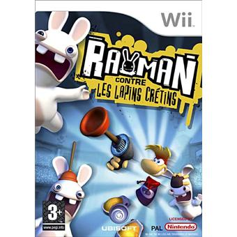 rayman contre les lapins cretins sur wii