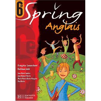 Spring 6e Lv1 Anglais Livre De L Eleve