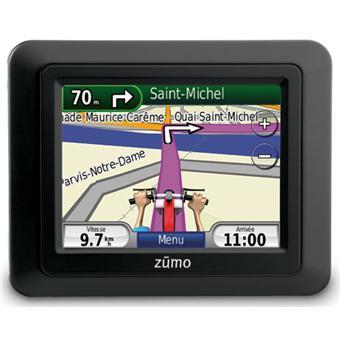 Navigation GPS GARMINZUMO220NOIREUROPE