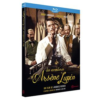 Les aventures d'Arsène Lupin Blu-ray