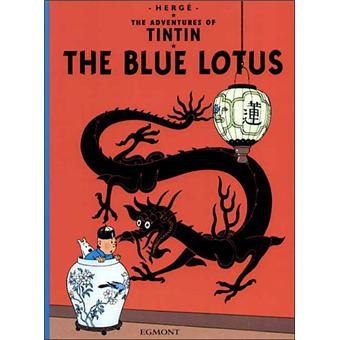TintinThe blue lotus