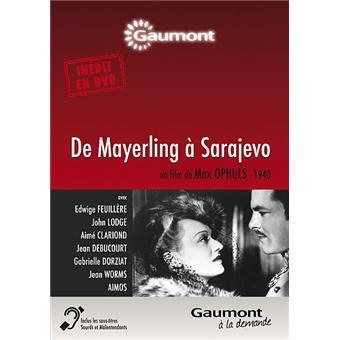 De Mayerling à Sarajevo DVD