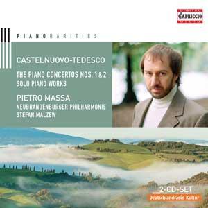 Castelnuovo-Tedesco: The Piano Concertos Nos. 1 & 2 / Solo Piano Works