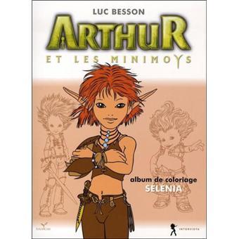 Arthur et les MinimoysArthur et les Minimoys - Coloriage Sélénia