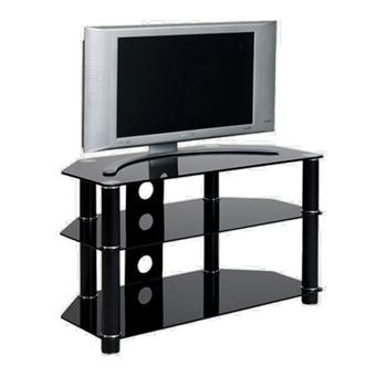 meuble tv ateca at317bp176 meuble tv achat prix fnac. Black Bedroom Furniture Sets. Home Design Ideas