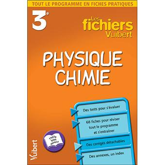 Fichier Physique Chimie 3eme Cahier D Exercices Edition 2002 Broche Collectif Achat Livre Fnac
