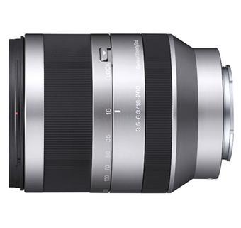 Sony E 18-200mm f/3.5-6.3 Gestabiliseerd, Special NEX-Series Hybride Lens
