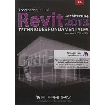 elephorm apprendre autodesk revit architecture 2013