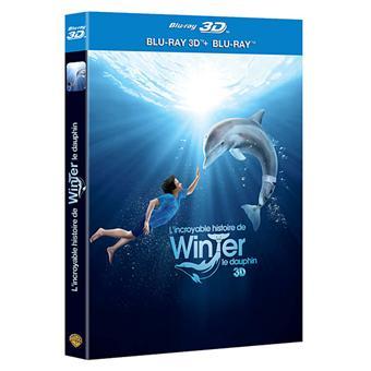 L'incroyable histoire de Winter le dauphin - Blu-Ray - Versions 2D /3Da