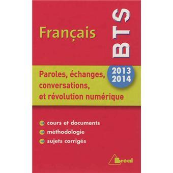 Francais Bts 2013 2014