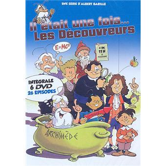 Il était une fois...IL ETAIT UNE FOIS LES DECOUVREURS-6 DVD-VF
