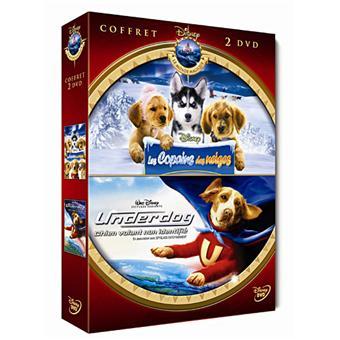 Les Copains des neiges - Underdog, chien volant non identifié - Coffret