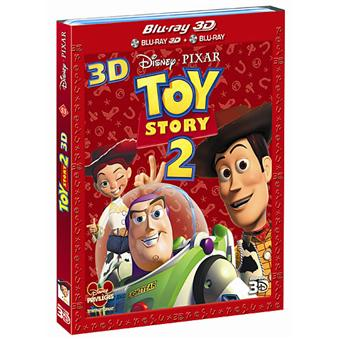 Toy StoryToy Story 2 - Blu-Ray - Versions 2D et 3D Active