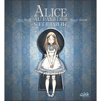Alice au pays des merveilles cartonn fran ois amoretti lewis carroll - Montre lapin alice au pays des merveilles ...