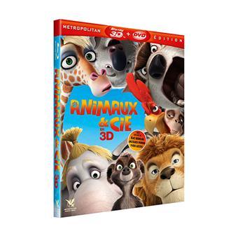 Animaux & Cie - Blu-Ray - Version 3D Active - Fourreau lenticulaire