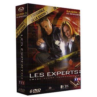 Les Experts Las VegasCoffret intégral de la Saison 3