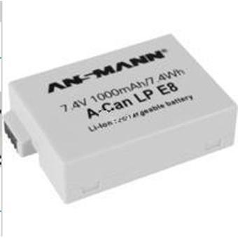 Ansmann batterie Canon LP-E8