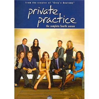 Private PracticePrivate Practice - Coffret intégral de la Saison 4 - Import US - DVD Zone 1