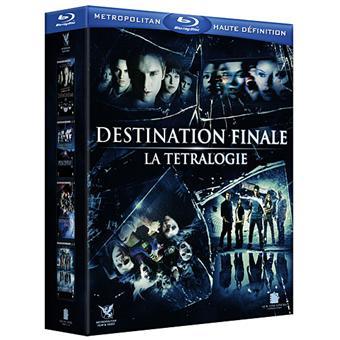 Destination finale - Coffret de La Tétralogie - Blu-Ray