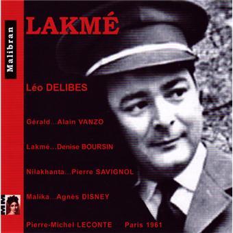 DELIBES: LAKME (PARIS, 1961)
