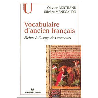 Vocabulaire d'ancien français