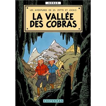 Jo et ZetteLa vallée des cobras