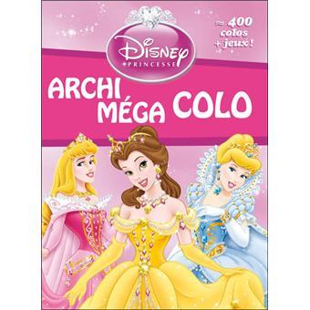 Disney princesses livres de coloriages princesses - Livre de coloriage disney ...
