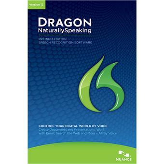 Dragon Naturally Speaking Premium 12 Dvd Rom Achat Prix Fnac