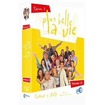 Plus belle la ViePlus belle la Vie - Coffret - Volume 15 - Digipack